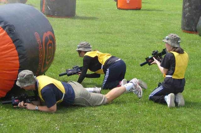 Outdoor Laser Tag - 10 Player