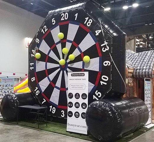 Giant Inflatable Soccer Dart Game