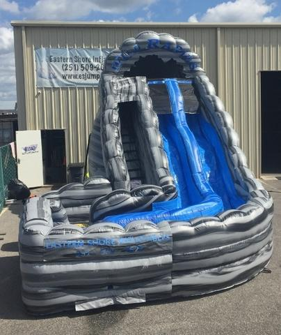 18 Foot Wild Rapids Double Lane Slide