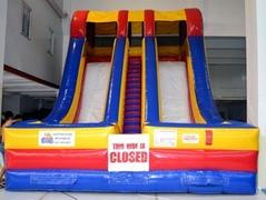 20 Foot Accelerator Double Lane Slide (Dry)