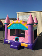 Sparkly Princess Bounce House