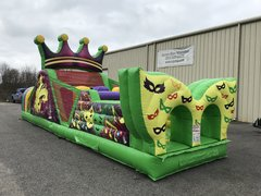 38 Foot Mardi Gras Obstacle Course
