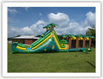 Alligator Alley Water Slide with 20 Ft Water Slip-Slide