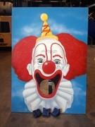 Clown Bean Bag Toss