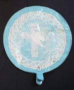 Baptism/Communion Light Blue Balloon