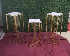 Gold Fancy Pedestals