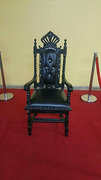 Prince/Princess Black Chair