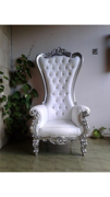 Silver Vintage Chair