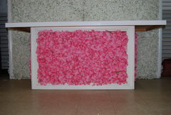Pink/White Flower Table