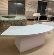 White Serpentine Table