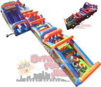 135ft Extreme Curve Obstacle Course 645,646,647&648