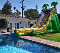 24ft Waterslide into a pool -521