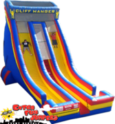 27ft Cliff Hanger Dual Lane Dry Slide   704