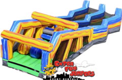 33ft Marble Obstacle Course 646