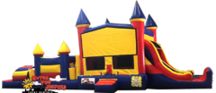 45ft Castle Double Slide Combo 637-1&637-2, 644-1&644-2 or 649-1&649-2
