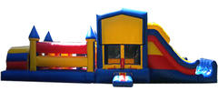 48ft Obstacle Double Slide Combo  623-1&637-2