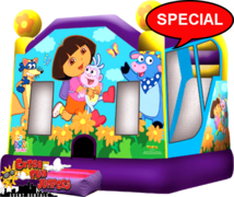 Extra Large Dora the Explorer Dry or Wet -212
