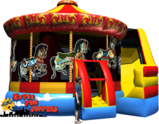 Carousel Inflatable Combo 227