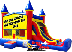 Castle Double Slide Combo  637-1, 644-1 or 649-1
