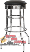 Chrome Stool 30'' High