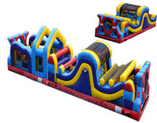 45ft Extreme X Obstacle Course 621 & 622