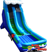27ft Monster Drop Single Lane  Dry Slide 700&701