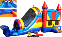 MultiColor Castle Double Slide Combo 624-1