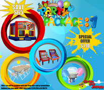 BOUNCER PARTY PACKAGE
