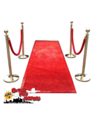 Red Carpet with Posts and Stanchions