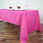6ft Fuchsia Rectangular Linen