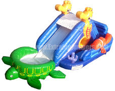 Under the Sea Water Slide with pool -511