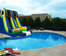 18ft Waterslide into a Pool 503