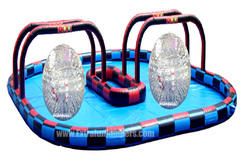 Large Zorb Ball Race Track 415