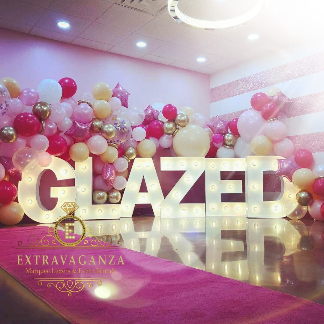 Marquee Letters Party Rentals Dallas