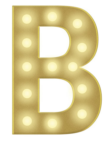 B 3FT MARQUEE LETTER