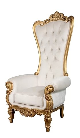 Gold Throne Chair  $150