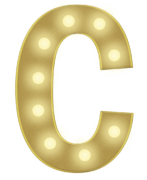 C 3FT MARQUEE LETTER