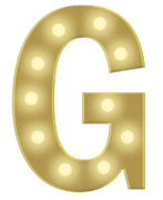 G 3FT MARQUEE LETTER