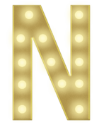 N 3FT MARQUEE LETTER