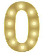 O 3FT MARQUEE LETTER