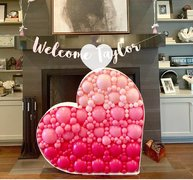 5ft Balloon Mosaic Heart