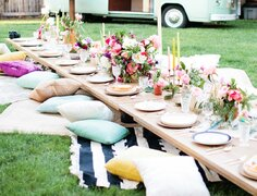 Bohemian Chic Tables
