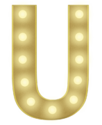 U 3FT MARQUEE LETTER