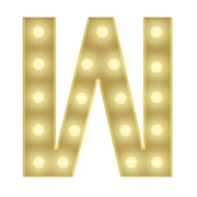 W 3FT MARQUEE LETTER