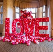 LOVE BALLON MOSAIC 5FT