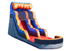 16' Volcanic Splash Water Slide