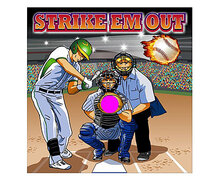 Strike 'Em Out Baseball