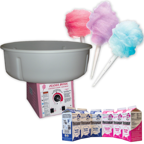 Cotton Candy Machine with Supplies