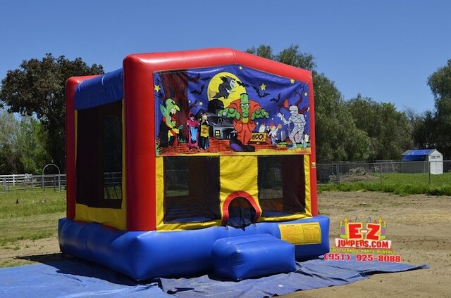 Halloween - Frankenstein Medium Bounce House