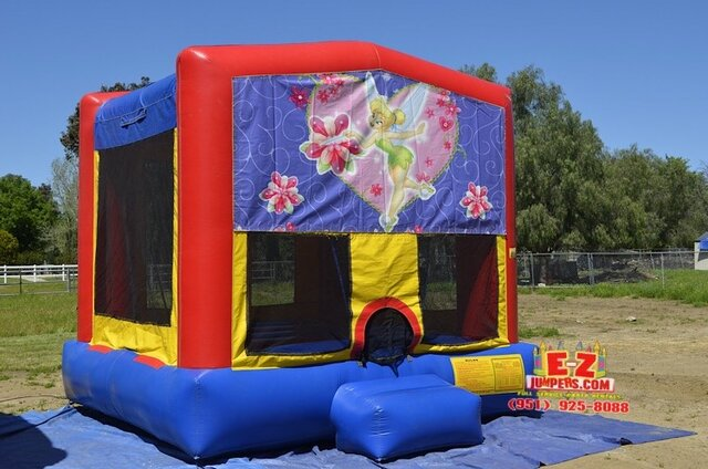 Tinkerbell Large Bounce House